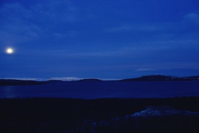 Zdjęcia: Laksefjord, FINNMARK, NOC POLARNA, NORWEGIA