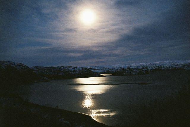 Zdjęcia: Okolica IFJORD, FINNMARK, NOC POLARNA, NORWEGIA