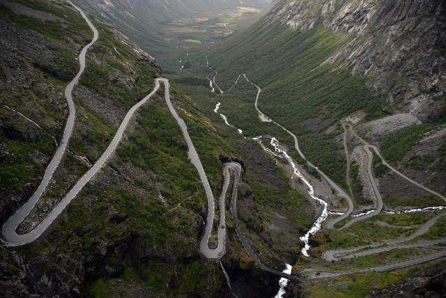 Zdjęcia: Trollstigen, More og Romsdal, Droga Trolli - Trollstigen, NORWEGIA