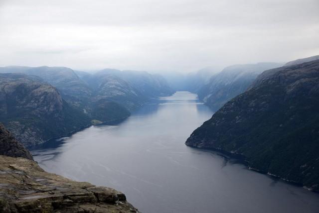 Zdjęcia: Lysefjord, Rogaland, Lysefjord, NORWEGIA