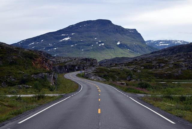 Zdjęcia: granica szwedzka w okolicy Narviku, Troms, Lapońskie góry, NORWEGIA