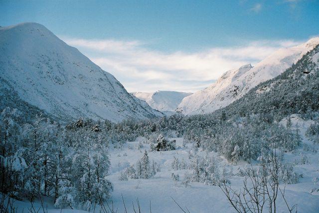 Zdjęcia: rejon: JOSTEDALSBRE, SRODKOWY-ZACHÓD NORWEGI, PRAWDZIWA ZIMA, NORWEGIA