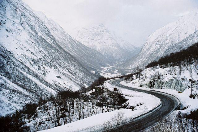 Zdjęcia: rejon: JOSTEDALSBRE, SRODKOWO-ZACHODNIA NORWEGIA, NORWESKI WIDOCZEK, NORWEGIA