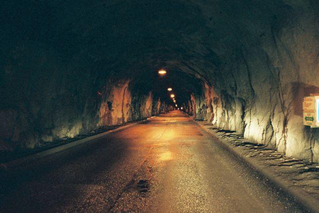 Zdjęcia: FINNMARK, FINNMARK, SKARVBERG TUNEL, NORWEGIA