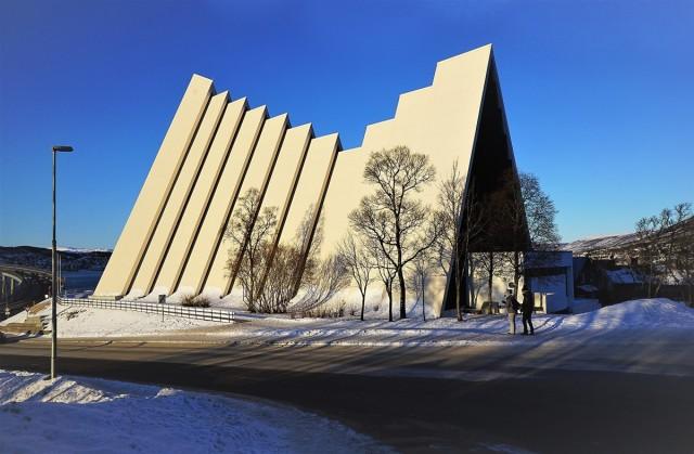 Zdjęcia: Tromsdalen, Troms, Katedra Arktyczna, NORWEGIA