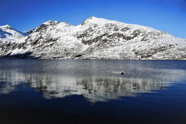 Zdjęcia: Ersfjordbotn, Troms, Odbicie, NORWEGIA