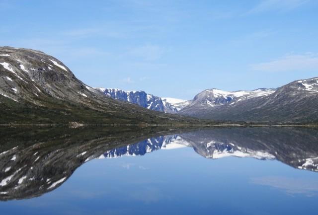 Zdjęcia: Droga nr 15,  Møre og Romsdal, Odbicie, NORWEGIA