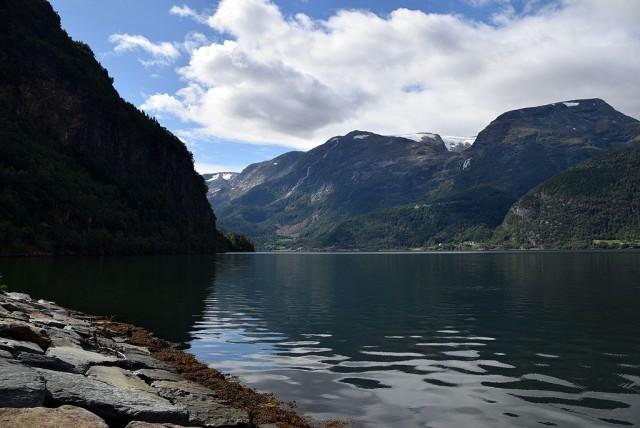 Zdjęcia: Handangerfjorden, Sogn og Fjordane, Handangerfjorden, NORWEGIA