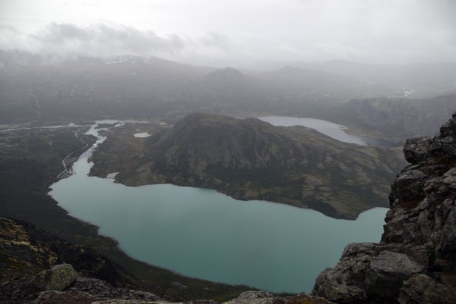 Zdjęcia: Bessegen, Oppland, jezioro Gjende, NORWEGIA
