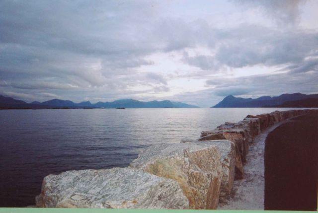 Zdj�cia:  Molde, Molde srodkowe wybrzeze Norwegii, NORWEGIA