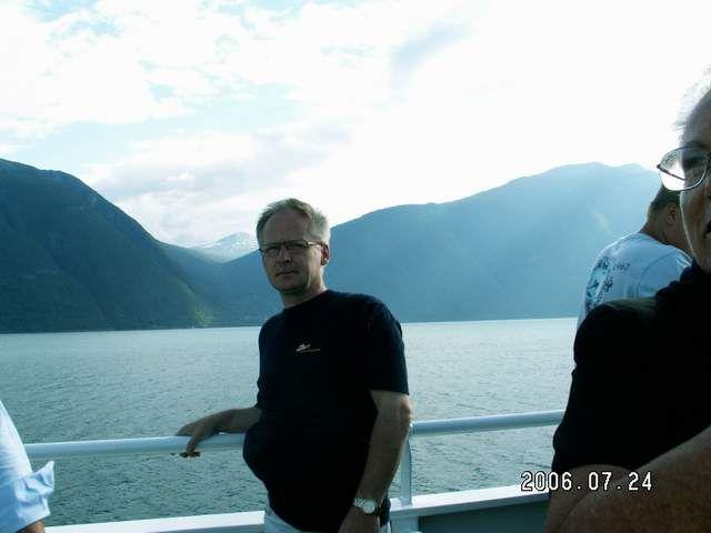 Zdj�cia: Sogndalfiord, Na promie, NORWEGIA
