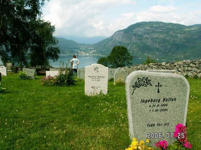 Zdjęcia: Urnes, Widok na fiord spod stavkirke, NORWEGIA