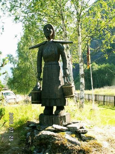 Zdjęcia: Vassbakken, Nosicielka wody, NORWEGIA