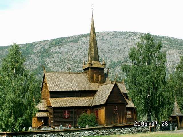 Zdjęcia: Lom, Stavkirke, NORWEGIA