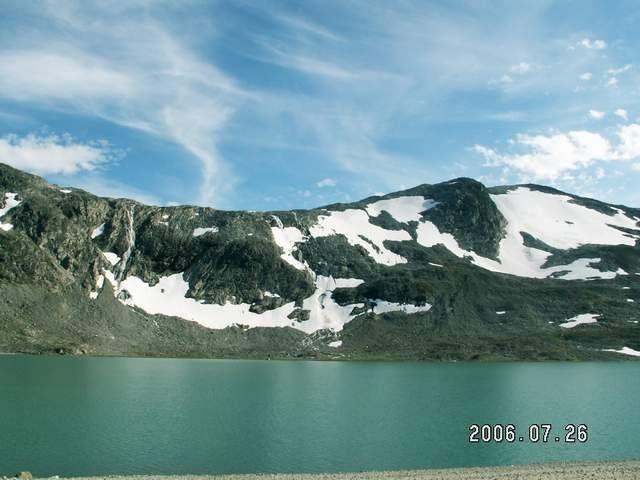 Zdjęcia: Droga 258, Widok z drogi nr 258, NORWEGIA