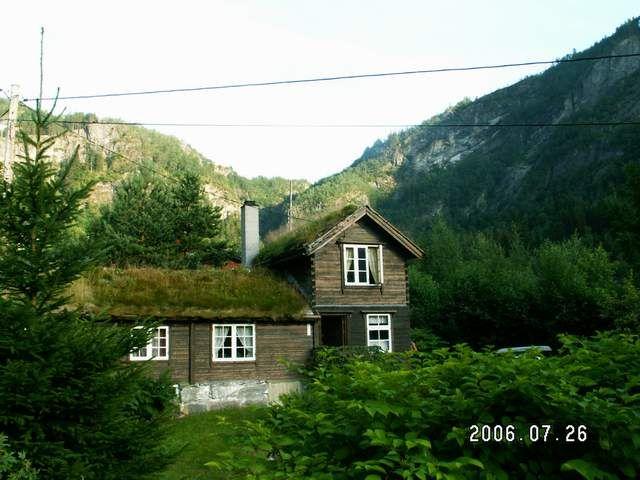 Zdjęcia: Geiranger, Stary domek, NORWEGIA
