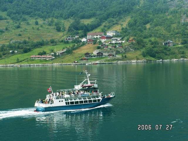 Zdjęcia: Geiranger, Wycieczka po fiordzie, NORWEGIA