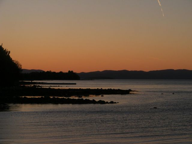 Zdjęcia: Horten, Horten, Horten- zachód słońca, NORWEGIA