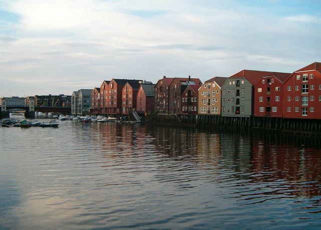 Zdjęcia: Trondheim, Trondheim2, NORWEGIA