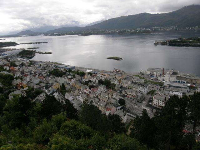 Zdjęcia: Alesund, Alesund, Widok na  Alesund, NORWEGIA