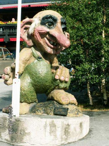 Zdjęcia: Dombas, Troll, NORWEGIA