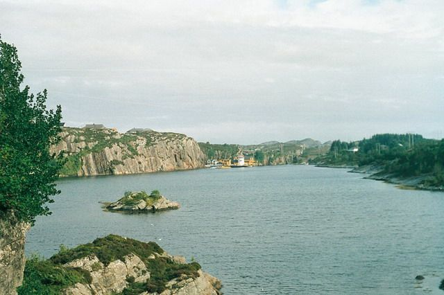 Zdj�cia: oyegard, ok 6,5 mil od Bergen, port, NORWEGIA