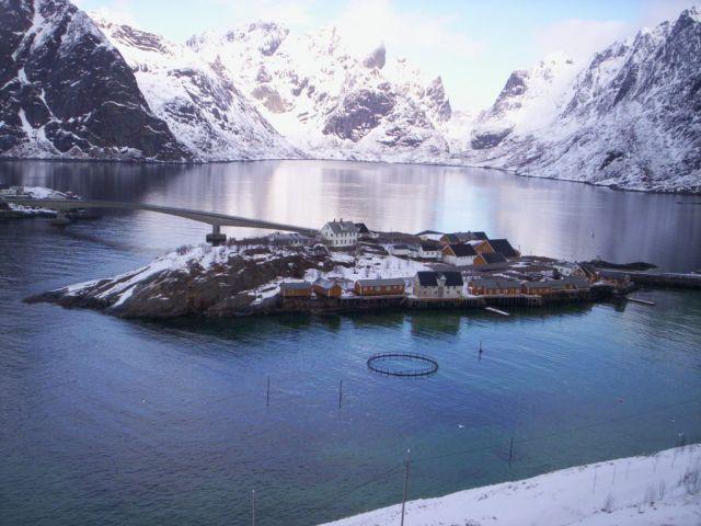Zdjęcia: kolo Reine, lofoty,   Norwegia 2006, NORWEGIA