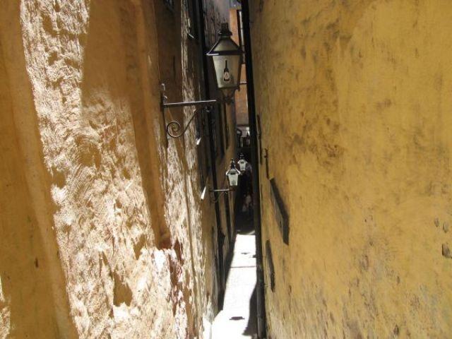 Zdjęcia: oslo, the narrowest street in oslo, NORWEGIA