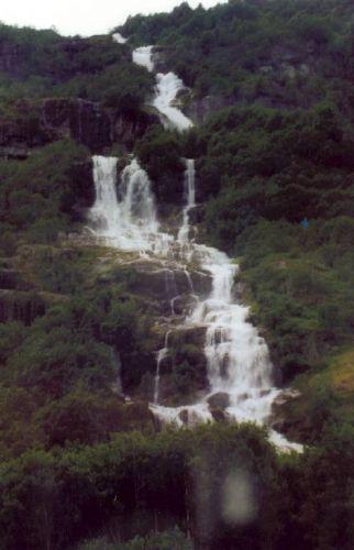 Zdj�cia: Jostedal, Wodospad, NORWEGIA