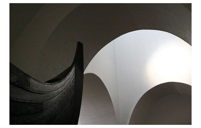 Zdjęcia: Oslo, Muzeum łodzi wikingów, NORWEGIA