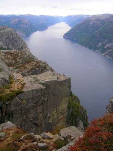Zdj�cia: Lysefjorden, Preikestolen, NORWEGIA