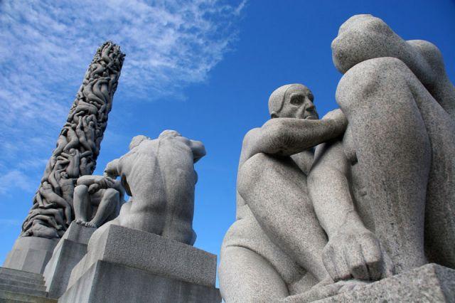 Zdj�cia: OSLO Park FROGNER, * * *, NORWEGIA