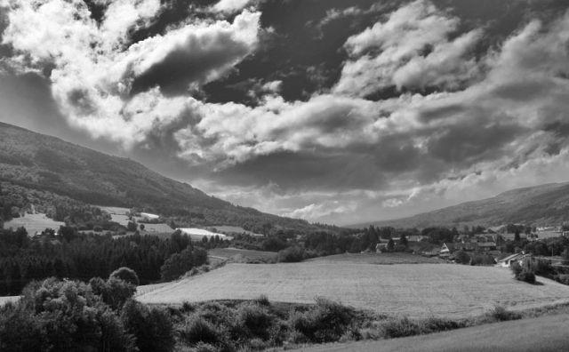 Zdj�cia: Miejscowo�� VIK panorama, * * *, NORWEGIA