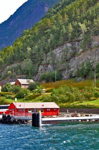 Zdjęcia: Przeprawa promowa SOGNEFJORD, Fiord, NORWEGIA