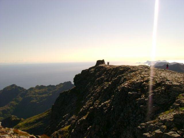 """Zdjęcia: Tind, lofoty, Norwegia-Lofoty Góra """"stywle"""", NORWEGIA"""