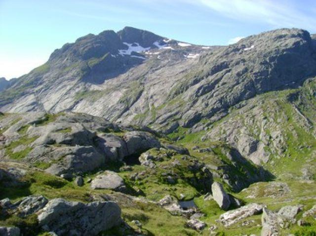Zdjęcia: Koniec drogi E10, Lofoty-Góry, NORWEGIA