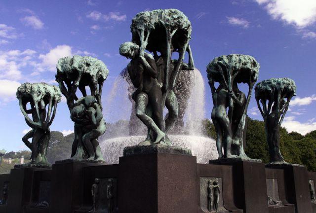 Zdjęcia: OSLO Park Frogner, FROGNER, NORWEGIA