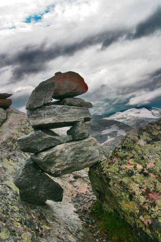 Zdj�cia: Szczyt DALSNIBBA (1500mnpm), Dalsnibba, NORWEGIA