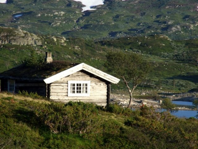 Zdjęcia: przy drodze Oslo-Bergen, bez prądu, NORWEGIA