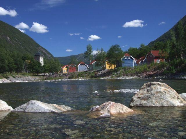 Zdjęcia: Rjukan, krajobraz Norwegii, NORWEGIA