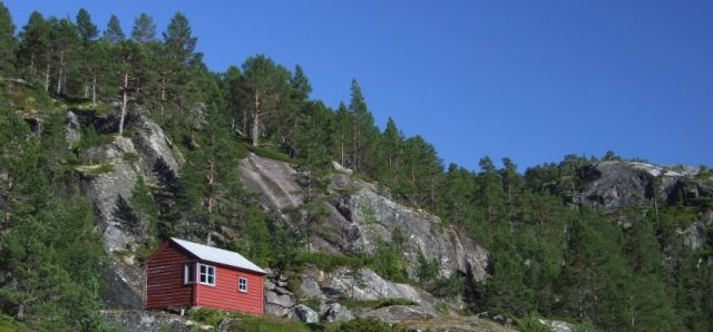 Zdj�cia: Oslo, domek, NORWEGIA
