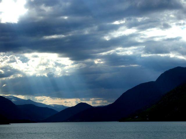 Zdj�cia: Bergen -> Otta, w drodze, NORWEGIA