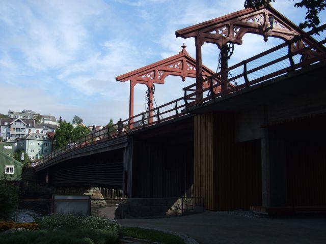 Zdjęcia: Trondheim, bridge in Trondheim, NORWEGIA