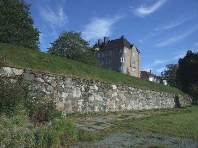 Zdjęcia: Trondheim, town wall, NORWEGIA