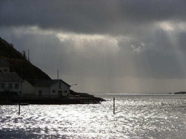 Zdjęcia: Reine, Nadchodzi sztorm, NORWEGIA
