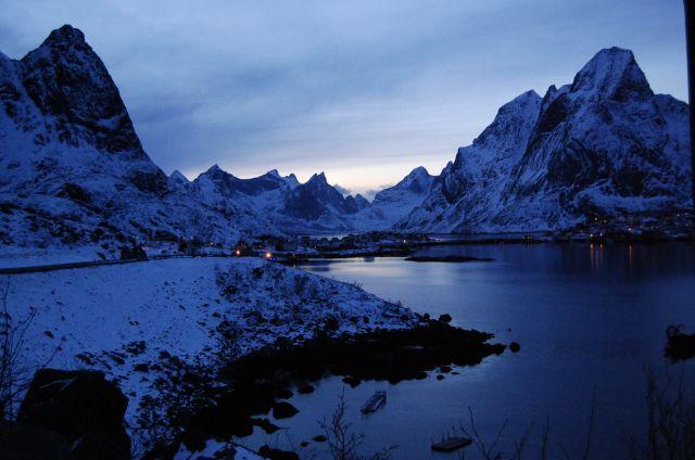 Zdjęcia: Reine, zima, NORWEGIA
