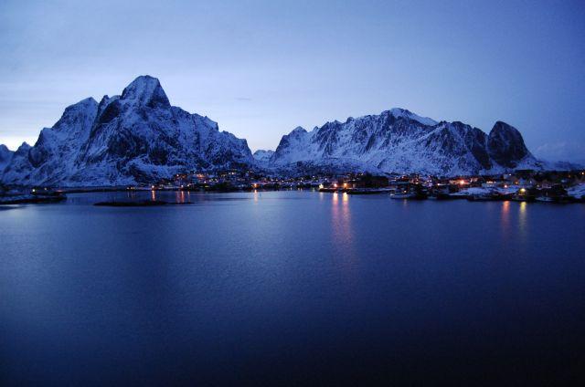 Zdjęcia: Reine, zima2, NORWEGIA