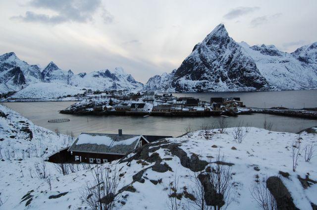 Zdj�cia: Sakrisoy, zima3, NORWEGIA