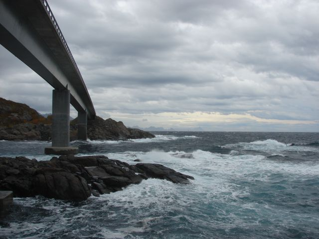 Zdjęcia: Lofoty, Most, NORWEGIA
