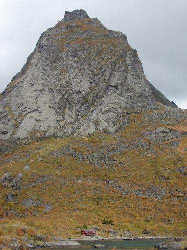 Zdjęcia: Lofoty, Maly domek, NORWEGIA